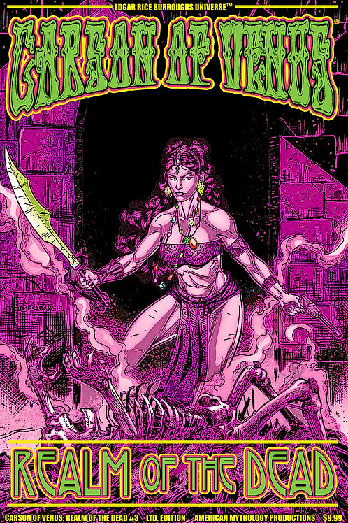 Carson of Venus: Realm of the Dead #3 1/350 Ltd Ed Pulp Cvr