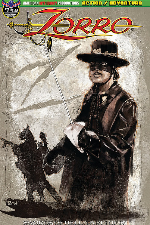Zorro Swords of Hell #1 Pinto Classic Cvr