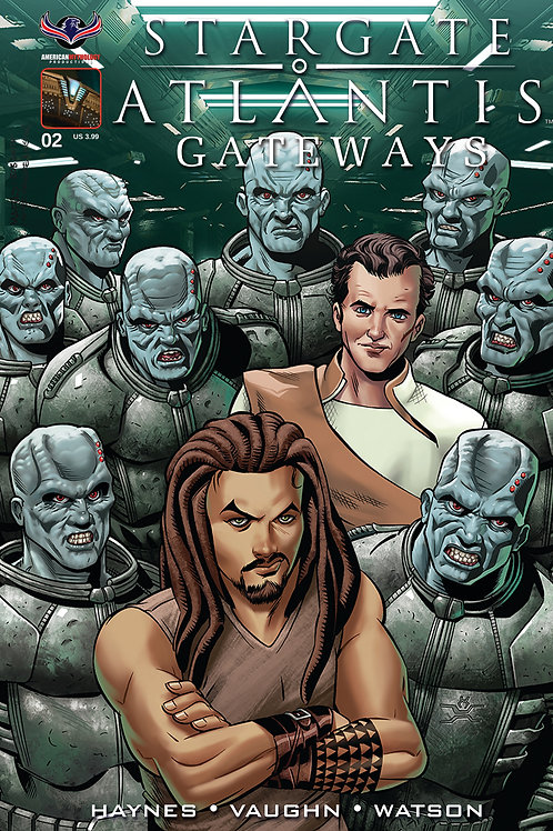 Stargate Atlantis Gateways #2 Wieringo Cvr