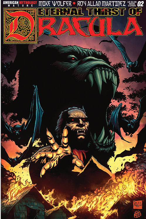 Eternal Thirst of Dracula #2 Main Martinez Cvr