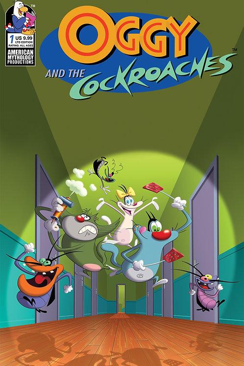 Oggy & the Cockroaches #1 Animation Cel 1/350 Ltd Var Cvr