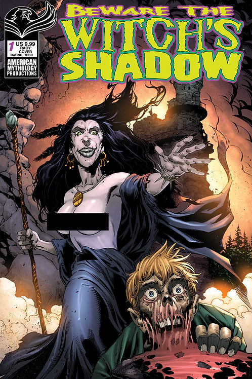 Beware the Witch's Shadow #1 Bonk Racy Cvr (MR)