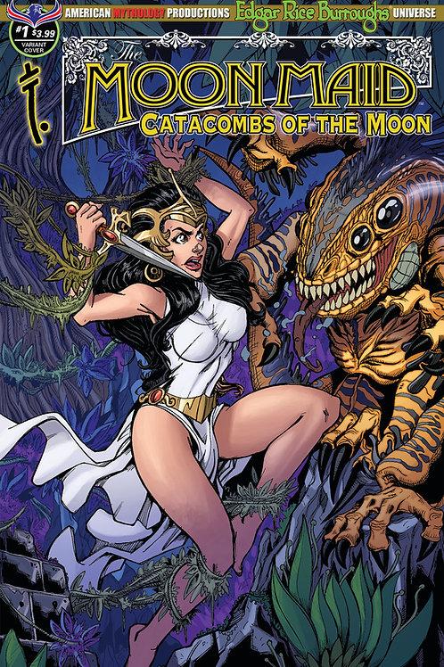 Moon Maid Catacombs of the Moon #1 Calzada Fury Cvr