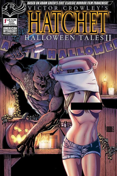 Victor Crowley's Hatchet Halloween Tales II Wolfer Racy Cvr