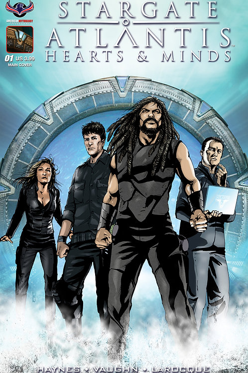 Stargate Atlantis Hearts & Minds #1 LaRocque Main Cover
