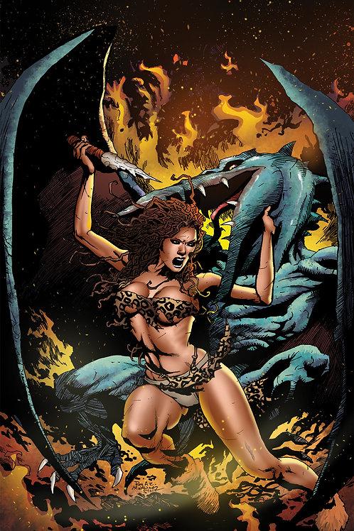 Pellucidar Wings of Death #3 Ltd 1/350 Virgin Cover