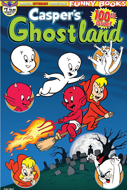 Casper's Ghostland #1 100th Issue Ltd Ed 1/350 Cvr
