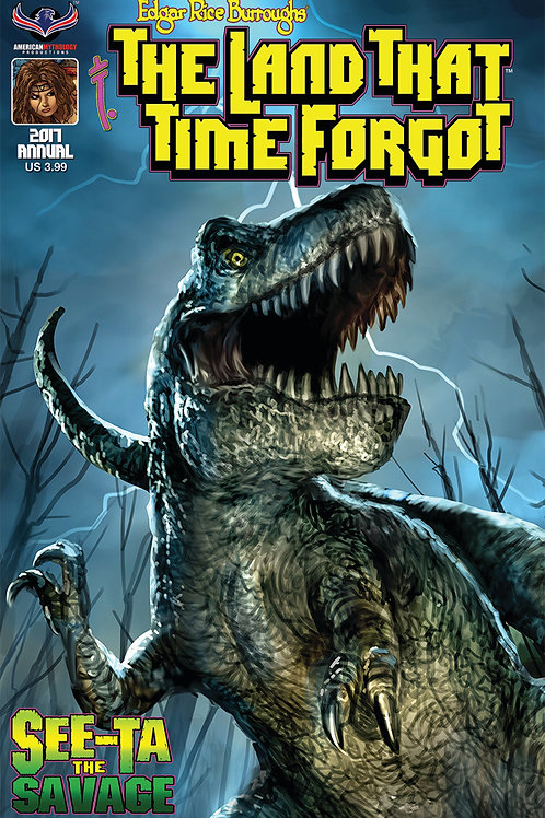 The Land That Time Forgot Annual See-Ta the Savage #1 Scalf Cvr