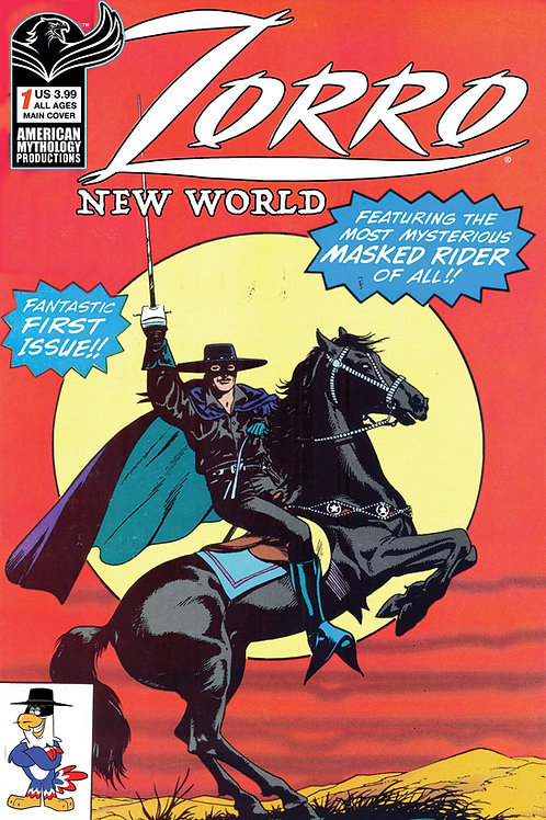 Zorro New World #1 Main Cvr