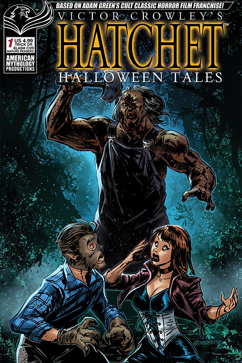 Victor Crowley's Hatchet Halloween Tales #1 Trick or Treat Ltd Ed Cvr