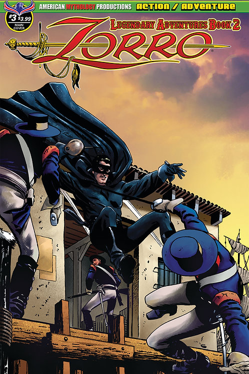 Zorro Legendary Adventures Book II #3 Main Cvr
