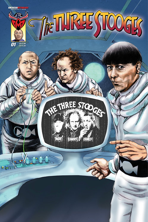 The Three Stooges #1 Talking QR Cvr (Available Now