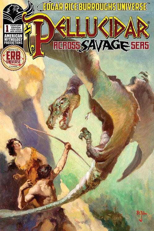 Pellucidar Across Savage Seas #1 1/100 Century Ltd Ed Var CvrP