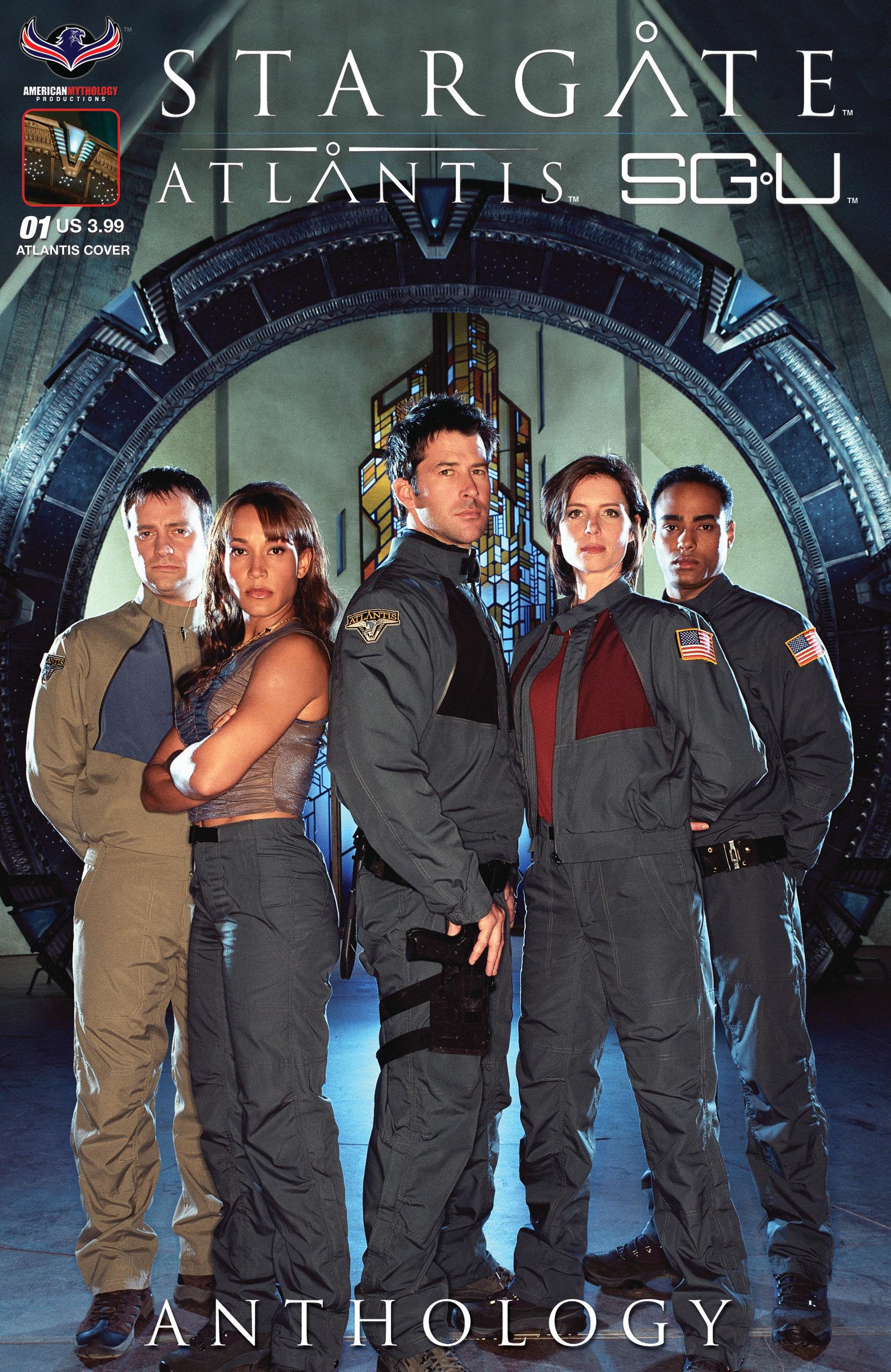 Stargate Atlantis / Stargate Universe Anthology #1 SGA