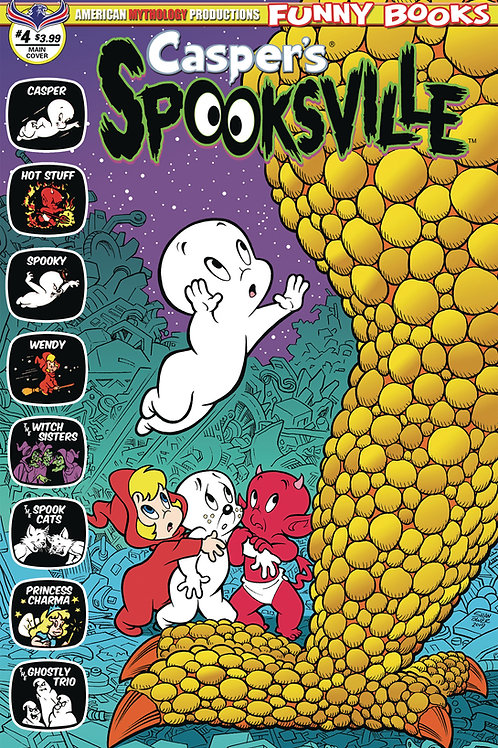 Casper's Spooksville #4 Digital Edition