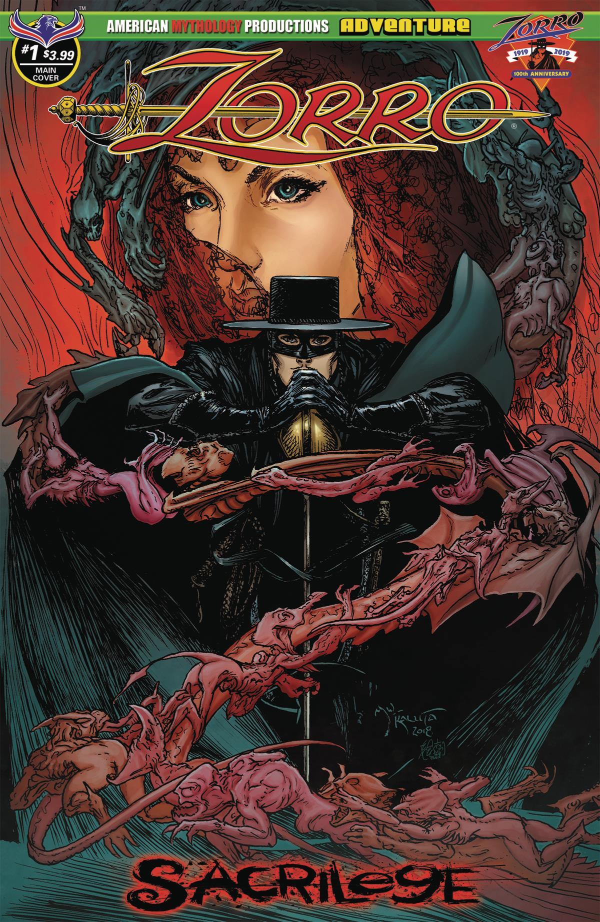 Zorro Sacrilege 1 Main