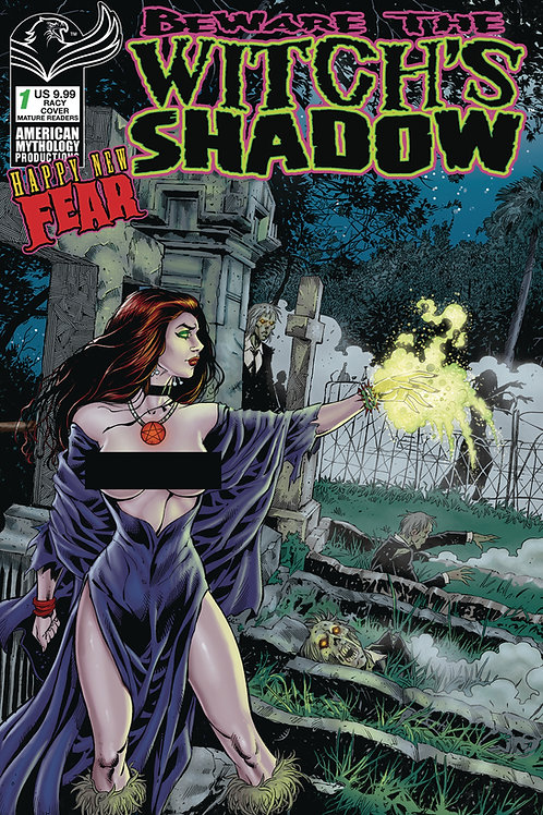 Beware the Witch's Shadow: Happy New Fear #1 Bonk Racy Cvr (MR)