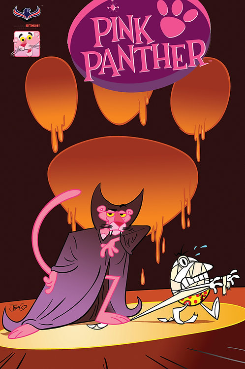 Pink Panther Trick or Pink #1 Retailer Holidays Cvr