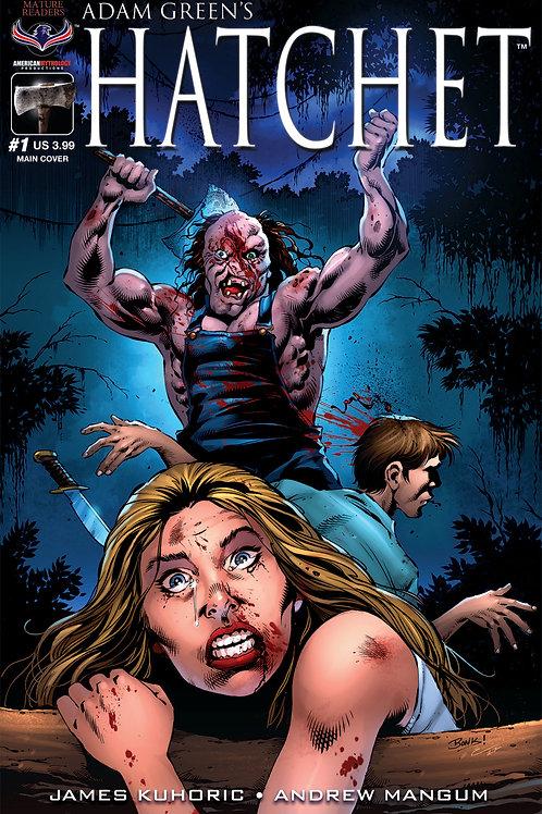 Adam Green's HATCHET #1 Bonk Main Massacre Cvr