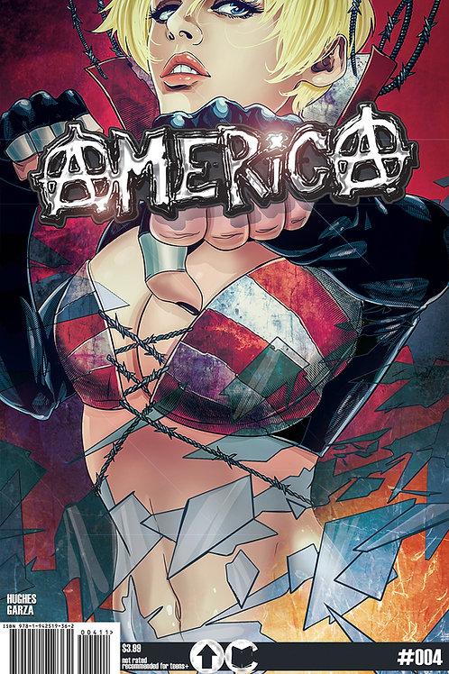 America #4 (Overground Comics)