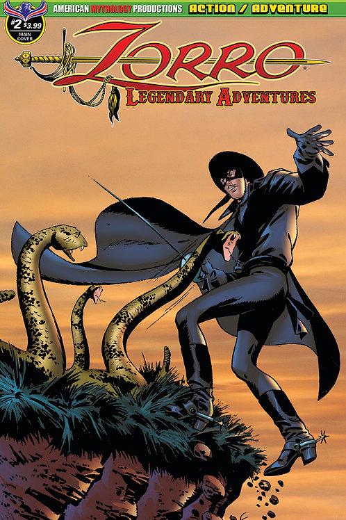 Zorro Legendary Adventures #2 Main Cvr