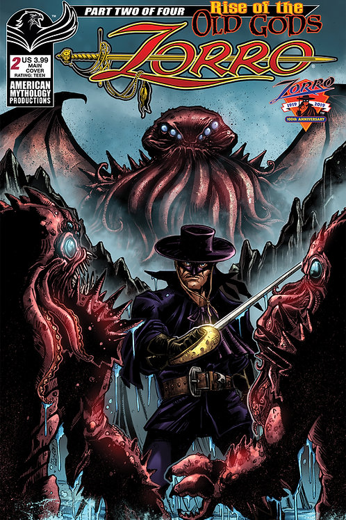 Zorro Rise of the Old Gods #2 Digital PDF Edition