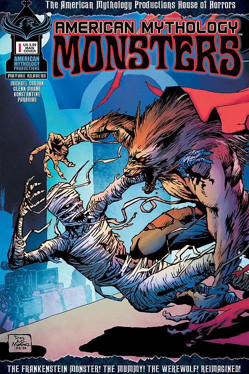American Mythology Monsters #1 Main Cvr