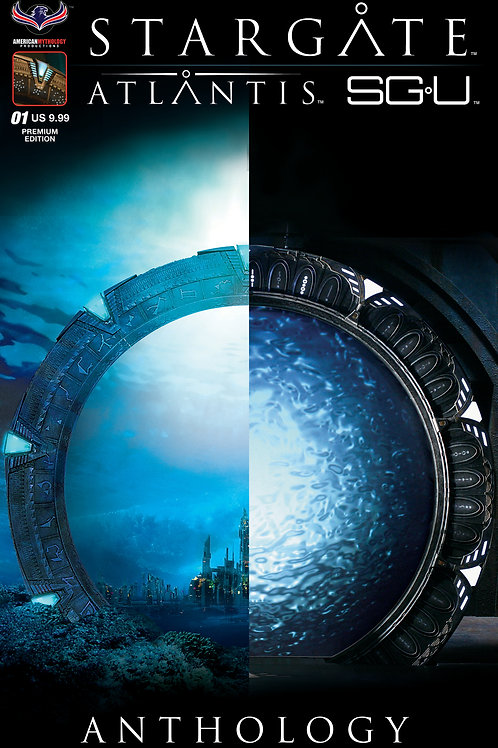 Stargate Atlantis / Stargate Universe Anthology #1 SGA/SGU Ltd Photo Cvr
