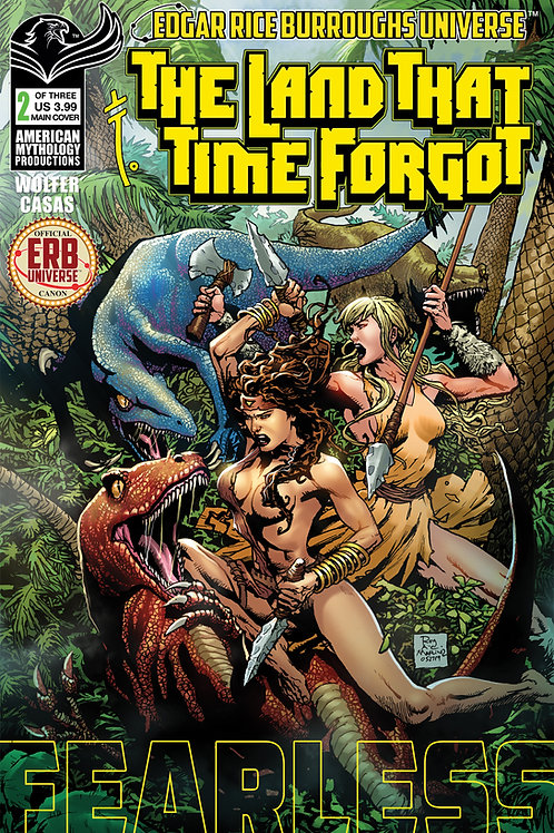 The Land That Time Forgot: Fearless #2 Main Cvr