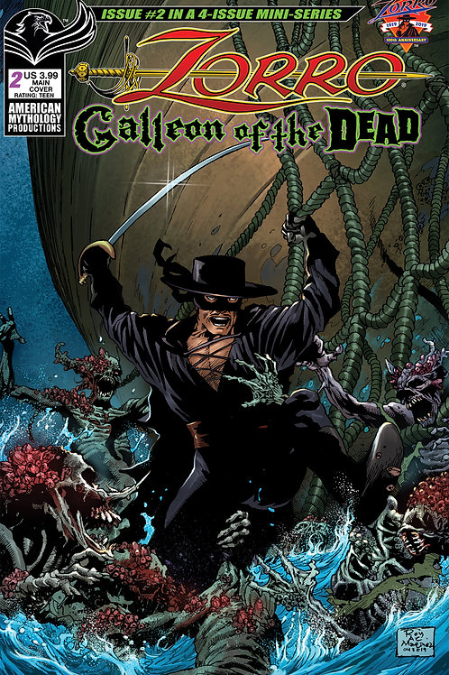 Zorro Galleon of the Dead #2 Digital PDF Edition