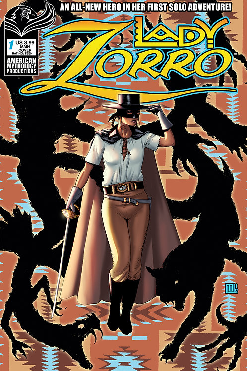 Lady Zorro #1 Digital PDF Edition