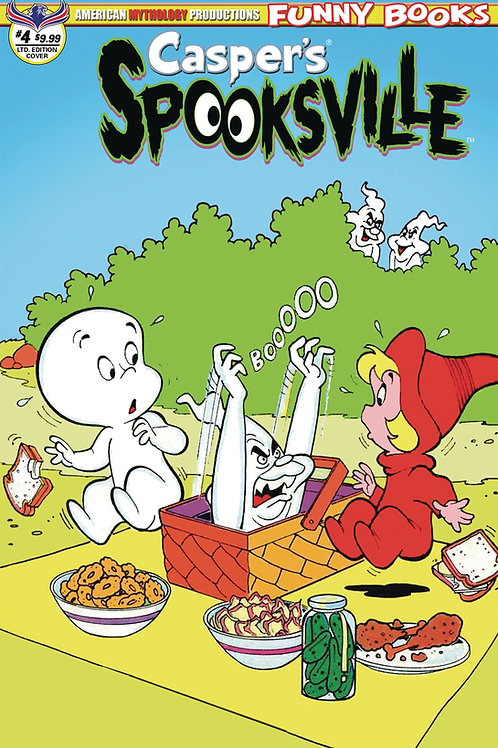 Casper's Spooksville #4 1/250 Retro Ltd Ed Cvr