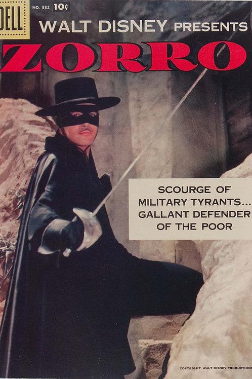 AM Archives Zorro 1958 Dell Four Color #882 Main Cvr
