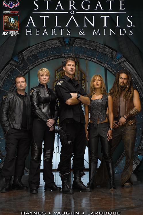 Stargate Atlantis Hearts & Minds #2 Flashback Incentive Photo Cover