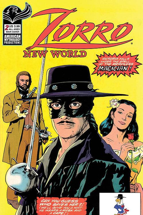 Zorro New World #2 Main Cvr