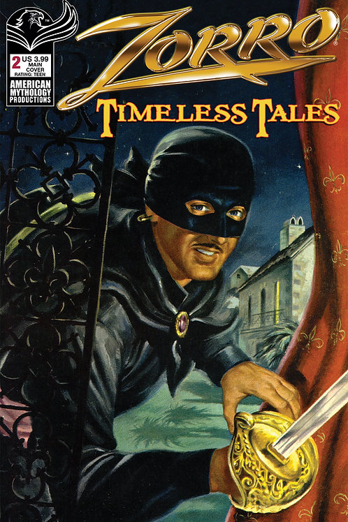 Zorro Timeless Tales #2 Digital PDF Edition
