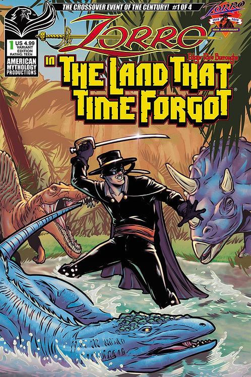 Zorro In The Land That Time Forgot #1 Variant Cvr