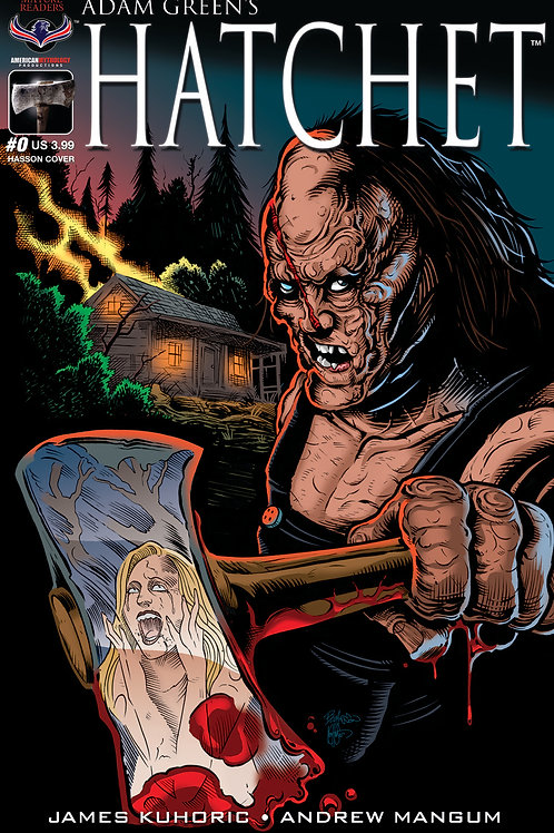 Adam Green's HATCHET #0 Buz Hasson Cvr