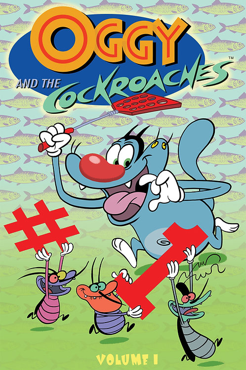 Oggy & The Cockroaches Graphic Novel Collection Digital PDF Edition
