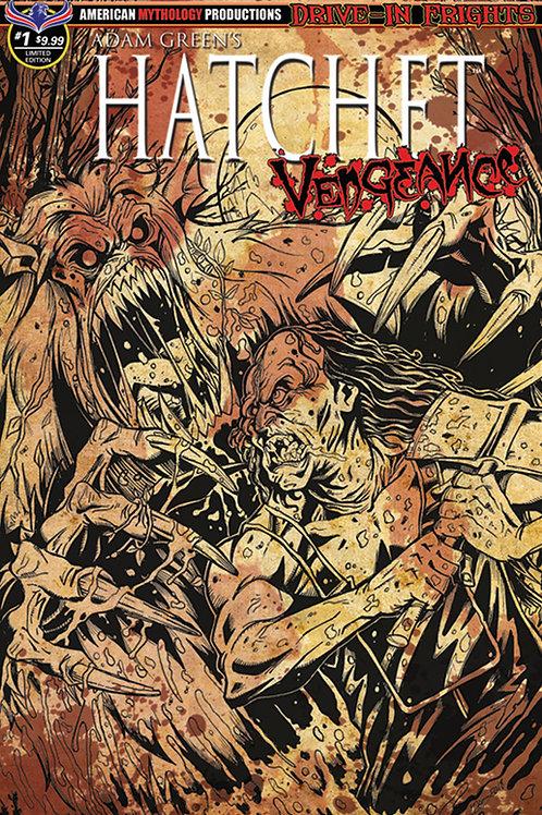 Adam Green's Hatchet Vengeance #1 Ltd Ed 1/350 Bloody Horror Cvr