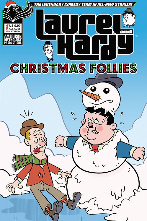 Laurel & Hardy Christmas Follies #1 1/350 Ltd Ed Variant Cvr