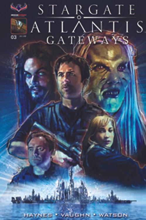 Stargate Atlantis Gateways #3 Main Cvr