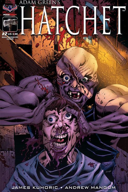 Adam Green's HATCHET #2 Bonk Main Mutilation Cvr