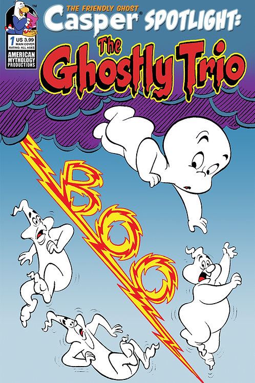 Casper Spotlight The Ghostly Trio Main Cvr