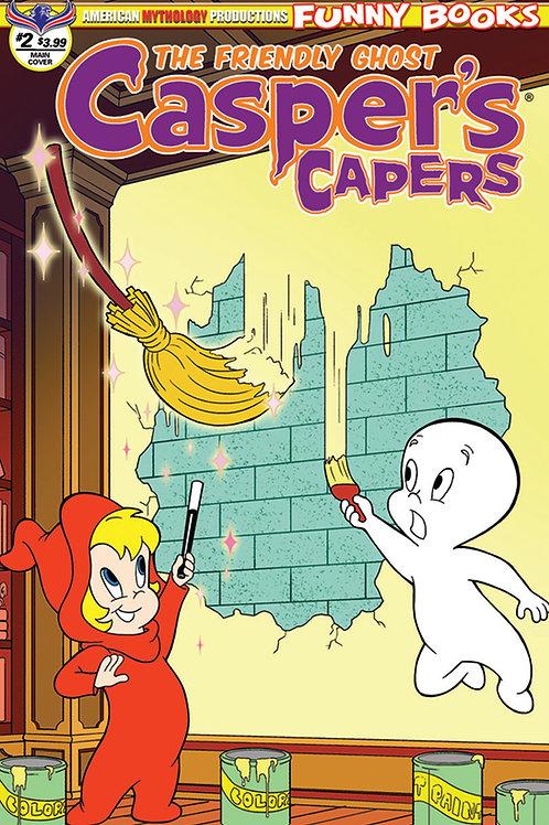 Casper's Capers #2 Main Dela Cuesta Cvr