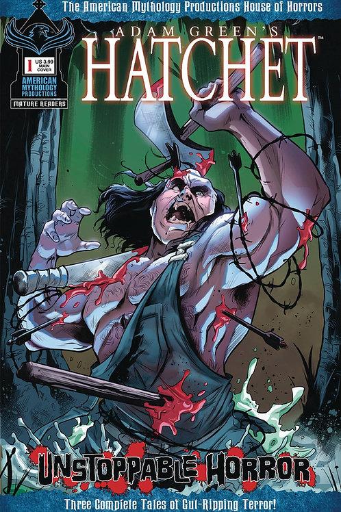 Hatchet Unstoppable Horror #1 Main Cvr