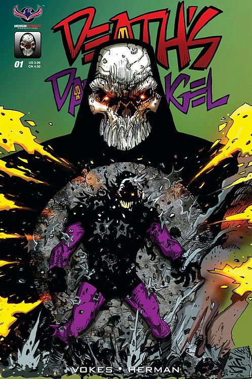 Death's Dark Angel #1 Main Cvr