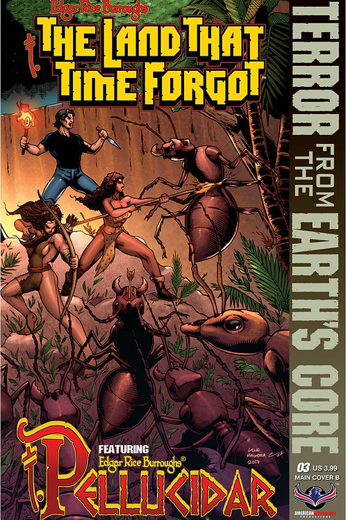 The Land That Time Forgot / Pellucidar #3 Cvr B Connecting