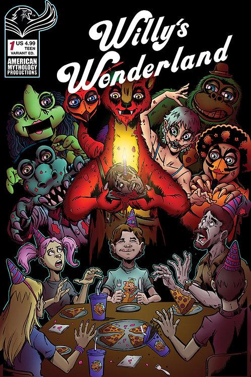 Willy's Wonderland Prequel #1 Variant Calzada Cvr