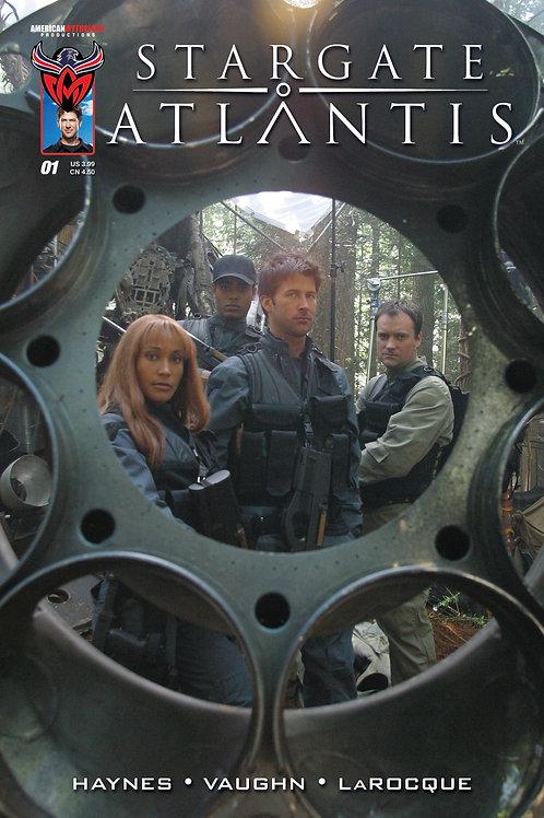Stargate Atlantis #1 Retailer Incentive Photo Cover